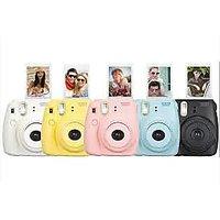 Fujifilm Instax Mini 8 Instant Camera (pink, white, black, blue  yellow)