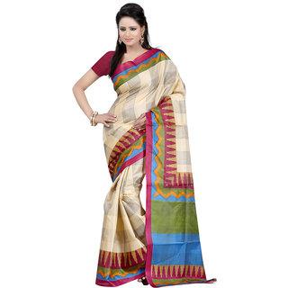 Beautiful Designer Bhagalpuri Silk Sarees Multicolor