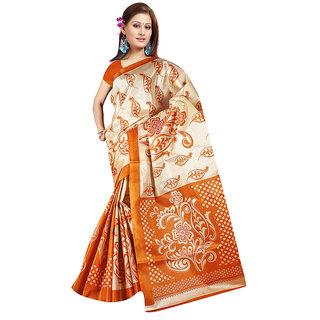 Exclusive Designer Bhagalpuri Silk Sarees Multicolor