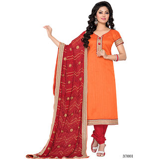 Vimush Orange Designer Salwar Suits 37001