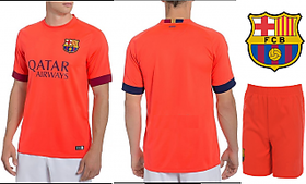 Peach Round Neck Half Sleeve Football Jersey For Mens