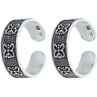 Splendid YouBella  92.5 Sterling Silver Toe Ring For Women
