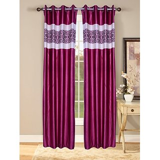 Fresh From Loom  Prime Eyelet Curtain