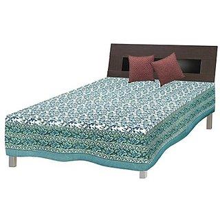 Shop Rajasthan Pure Cotton Sanganeri Print Single Bed Sheet (SRB2031)