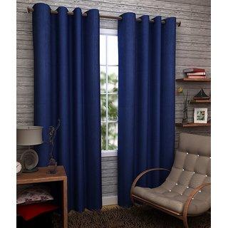 Z Decor Polyester Set of 2 Door Curtain 7 feet (ECTD-00012)