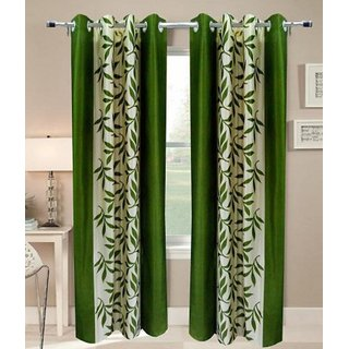 Z Decor Polyester Set of 2 Door Curtain(ECTD-015)