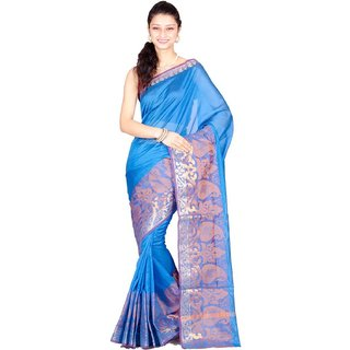 Chandrakala Pure Banarasi Cotton Saree