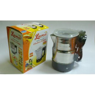 LUNA LU-03 Electric Kettle 1.5 L Stainless Steel Heating Jug/Cup for Water Tea