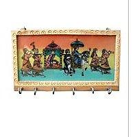 satya gem stone key holder