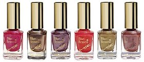 Blue Heaven Combo Of 6 Xpression Nail Paint (991, 992, 987, 986, 932 & 931) 9 Ml Each