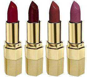 Blue Heaven Combo Of 4 Xpression Lipstick (R 002, M 020, Cb 028  P 074)(4 Gm Each)