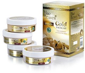 Blue Heaven Gold Facial Kit