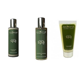 Ayorma Ayurvedic  Hair Care Combo(Hairfall control Oil,Shampoo & Conditioner)
