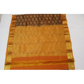 Art Silk Saree With Zari