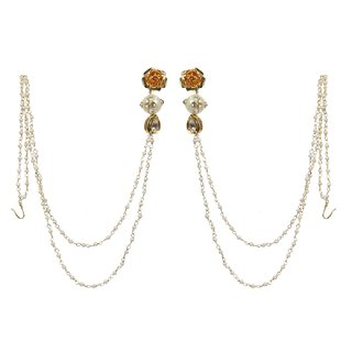 Envy Gold Plated Gold Cuff Earring