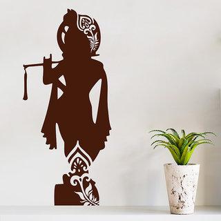 Decor Kafe Shree Krishna Wall Sticker (20x45 Inch)