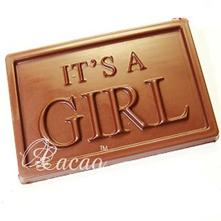 It'S A Girl Sugarfree Chocolate Bar