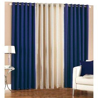 Z Decor Polyester Set of 3 Door Curtain(EGD-01)
