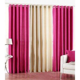 Z Decor Polyester Set of 3 Door Curtain(EGD-03)