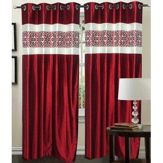 Z Decor Polyester Set of 3 Door Curtain(EGD-011)