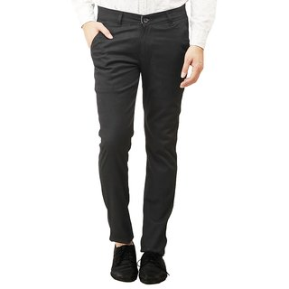 Histeria Men's Multicolor Skinny Fit Formal Trousers