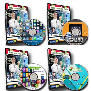 Learn Android App Programming & iOS Programming Video Training On 4 DVDs