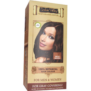 Indus Valley  Botanical Hair Color- Indus Brown Kit