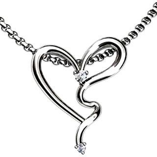 FacetzInspire Diamond Heart Gold Pendant Design - 2