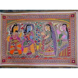 Sita Swayamvar Madhubani Painting