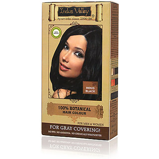 Indus Valley 100 Botanical Hair Color (Black)