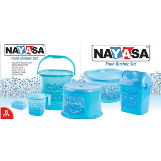 NAYASA FUNK BATHROOM SET 6 PCS - L