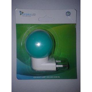 Syska 0.5 W Bulb Plug with Elegant Design (Pack of 2)