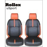 Alto - Gray - Branded Art Leather Car Seat Covers - Rollex USport