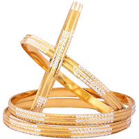 Beautiful Glod Plated Designer Bangles BG-1846