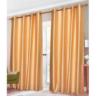 Z Decor Polyester Set of 3 Door Curtain(EGD-027)