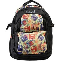 Laptop Bag Multicolor Space Print