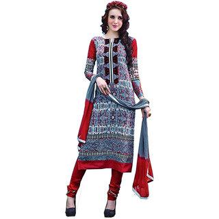 Fashion & Trendzz Cotton Embroidered Suit