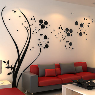 Wall Stencils Abstract tree