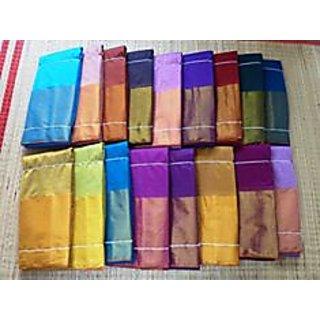 Monica cotton saree-Gold &pinkcolor