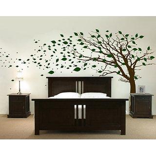 wall stencils  big tree
