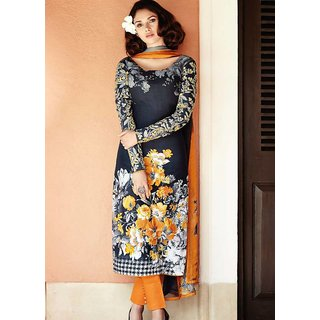 Latest Cotton Dress Material By Nazrana Fashions