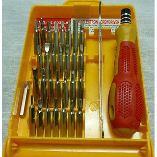 Jackli JK-6032 -32 in 1 Screwdriver Set Tool Kit for Laptop PC Project