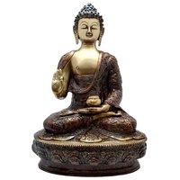 Handicrafted Brass Statue Of Lord Buddha