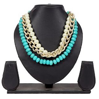 Envy Jewellery Gold Plating Turquoise Necklace