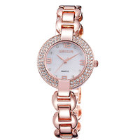 Weiqin Imported Trendy Casual Analog Alloy Band Womens Watch  NWA06S019C0