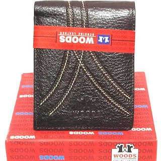 Woods Brown Mens Wallet