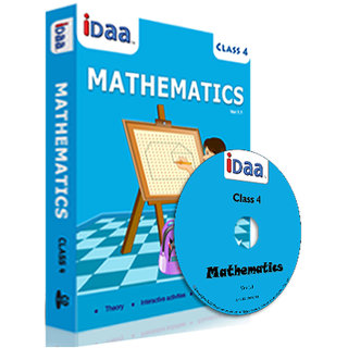 iDaa Class 4 CBSE Mathematics CD