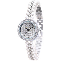 Weiqin Imported Trendy Casual Analog Alloy Band Womens Watch  NWA06S037C0