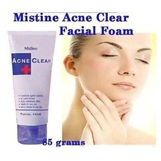 Mistine Acne Scar Clear Oil Control Facial Foam (85g.)