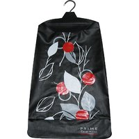 Strong, Durable, Multipurpose Designer Hanging Laundry bag opera black